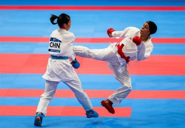 لیگ جهانی کاراته وان لیسبون، خاکسار چهارمین حذف شده ایران